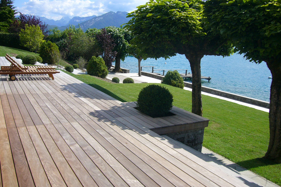 terrasse bois ipe bord du lac d 39 annecy eric ginollin. Black Bedroom Furniture Sets. Home Design Ideas