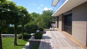 Terrasse bois - IPE - Bord du lac d'Annecy - Eric Ginollin